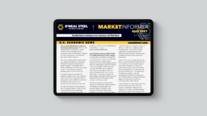 April Market Informer on iPad
