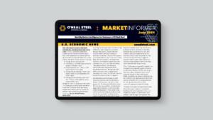 June Market Informer on iPad
