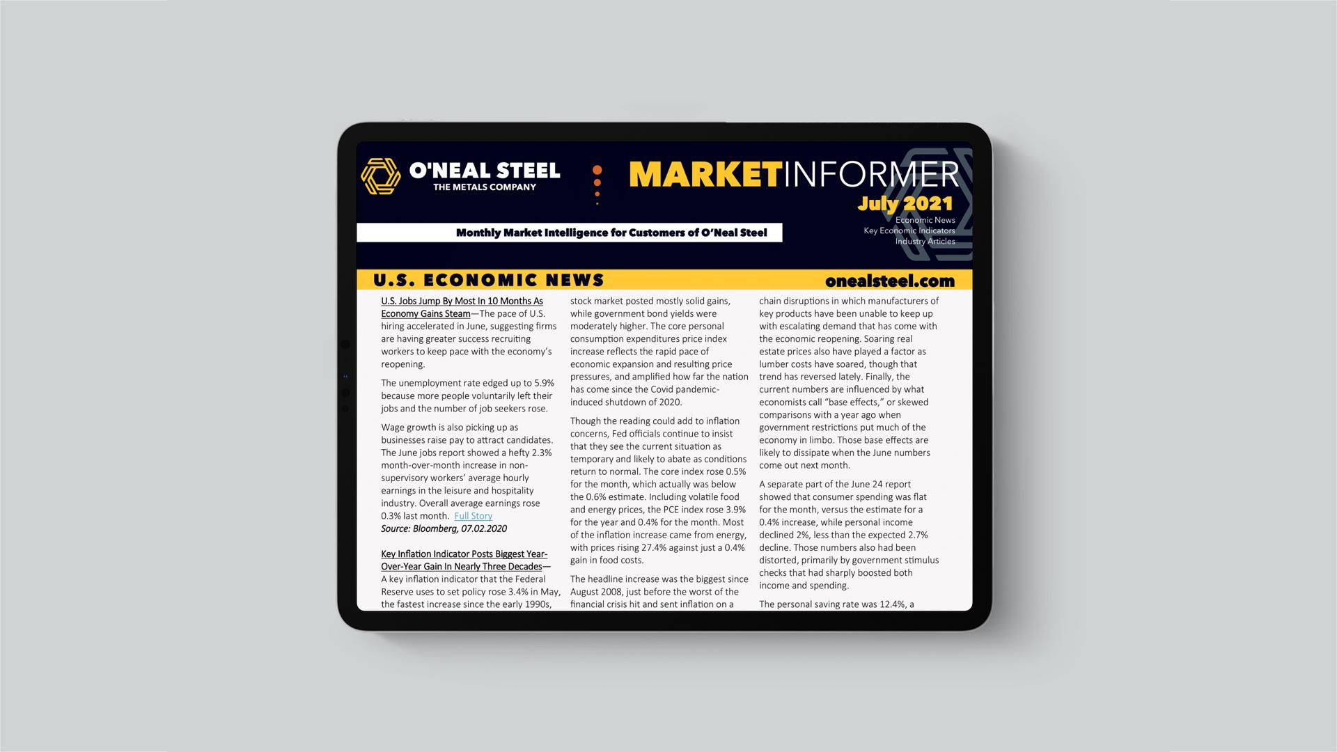 July 2021 Market Informer