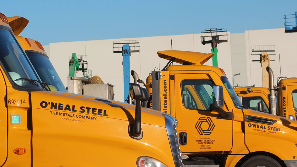 Oneal Steel Delivery